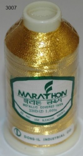 Marathon Rayon Embroidery Machine Thread Metallic - 3007